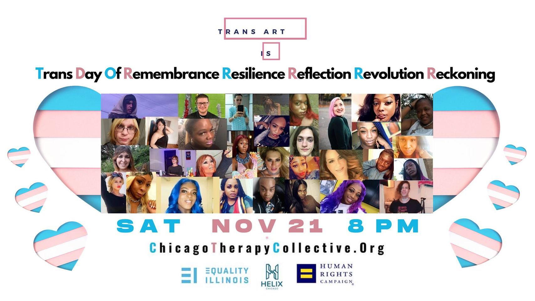 Trans Day of Remembrance Resilience TDOR 2020 CTC