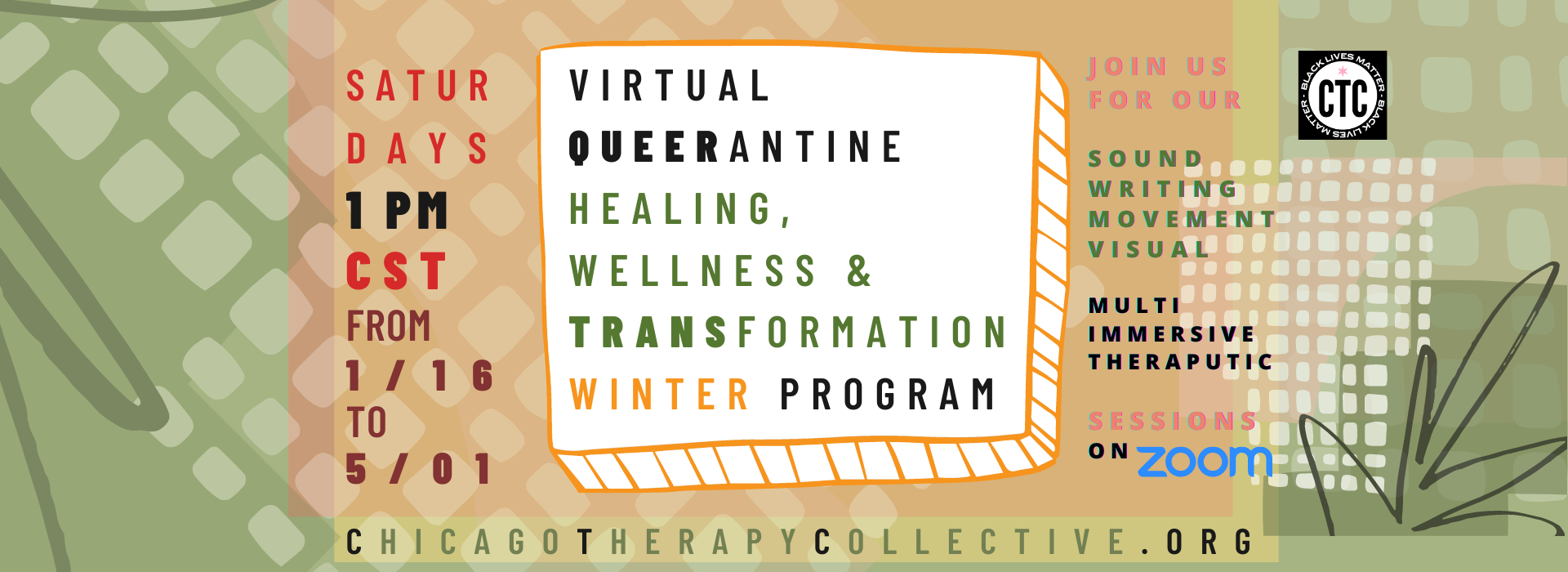 Queerantine Chicago Therapy Collective