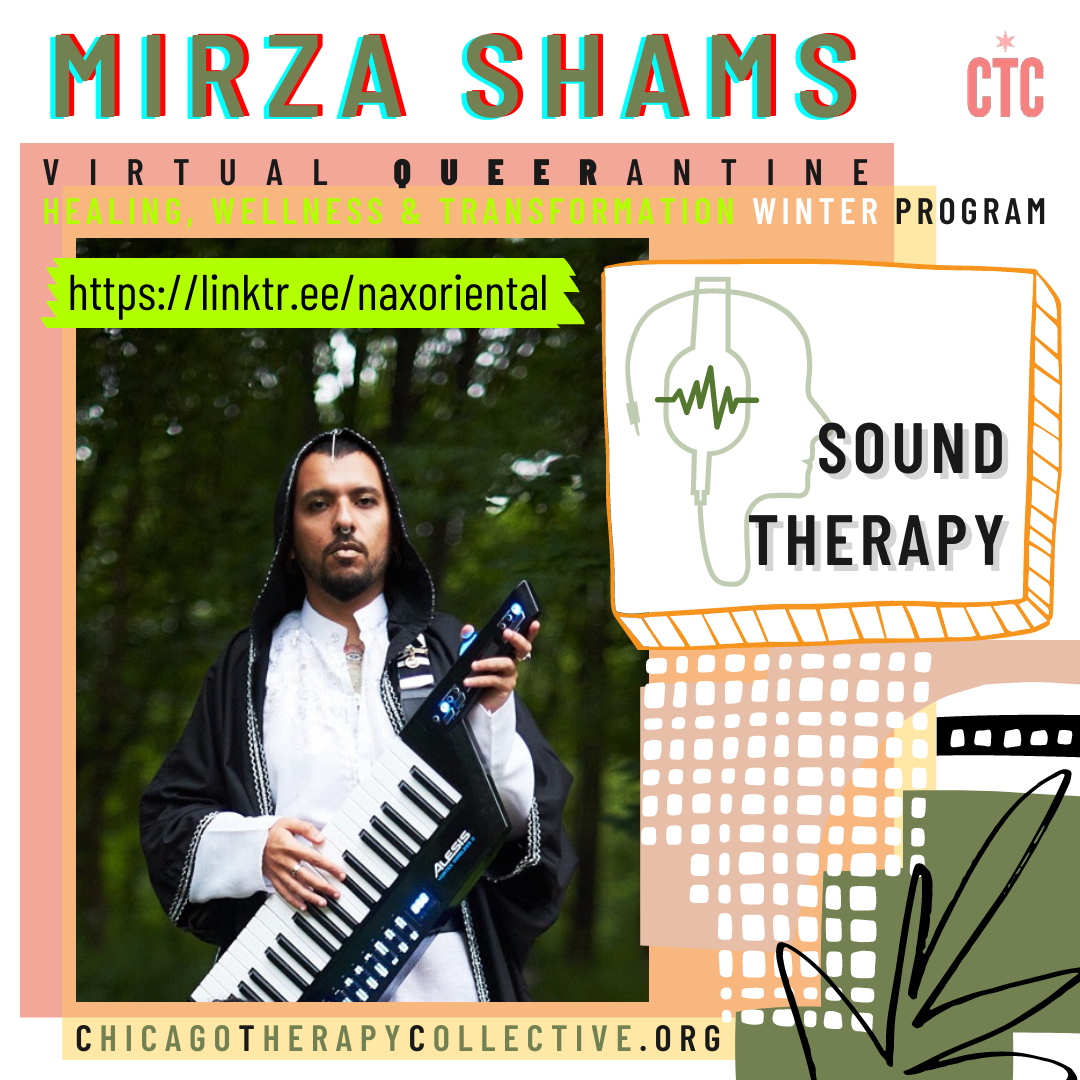 Mirza Shams Queerantine Chicago Therapy Collective